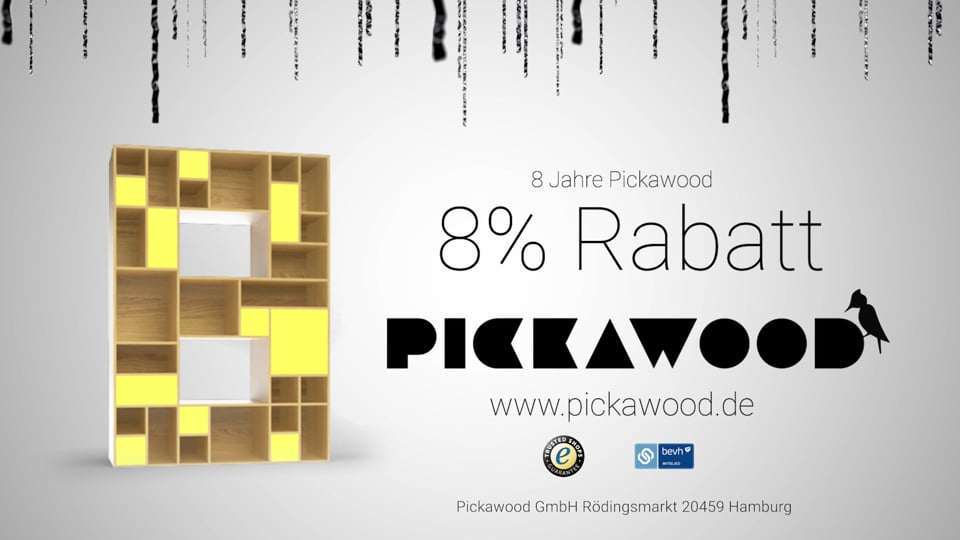 Pickawood Commercial 2020